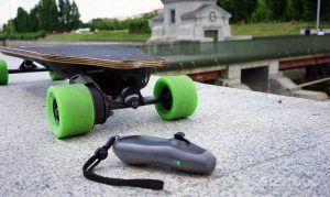 longboard-eléctrico