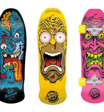 Tablas de skate decoradas
